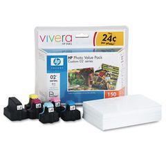 HP 02 Series Photo Paper Value Pack Thumbnail