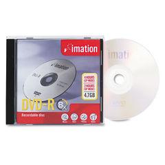 Innovera® DVD-R Inkjet Printable Recordable Disc Thumbnail