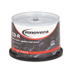 Innovera® CD-R Inkjet Printable Recordable Disc Thumbnail