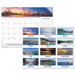 AT-A-GLANCE® Harbor Views Panoramic Desk Pad Thumbnail
