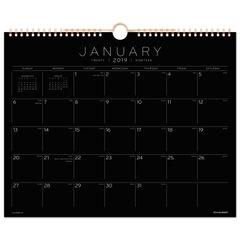 AT-A-GLANCE® Black Paper Wall Calendar Thumbnail