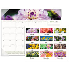 AT-A-GLANCE® Floral Panoramic Desk Pad Thumbnail