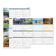 "AT-A-GLANCE® ""Seasons in Bloom"" Vertical/Horizontal Erasable Wall Planner Thumbnail"