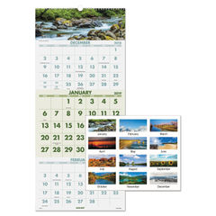 AT-A-GLANCE® Scenic Three-Month Wall Calendar Thumbnail