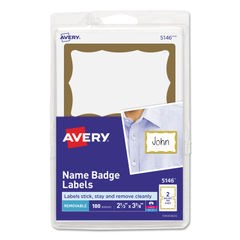 Avery® Printable Adhesive Name Badges Thumbnail