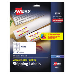 Avery® Vibrant Color Printing Mailing Labels Thumbnail