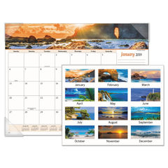 AT-A-GLANCE® Seascape Panoramic Desk Pad Thumbnail