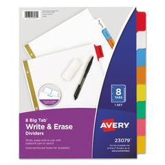 Avery® Write & Erase Big Tab™ Paper Dividers Thumbnail