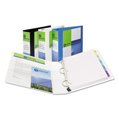 Avery® Heavy-Duty Non Stick View Binder with DuraHinge™ and Slant Rings Thumbnail