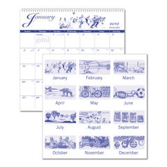 AT-A-GLANCE® 12-Month Illustrator's Edition Wall Calendar Thumbnail