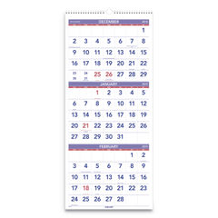 AT-A-GLANCE® Deluxe Three-Month Reference Wall Calendar Thumbnail