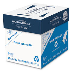 Hammermill® Great White® 30 Recycled Print Paper Thumbnail