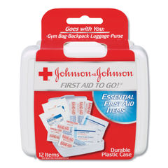 Johnson & Johnson® Red Cross® Mini First Aid to Go® Thumbnail