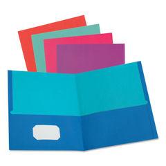 Oxford™ Twisted Twin Pocket Folder Thumbnail