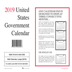 Unicor Perforated Monthly Wall Calendar Thumbnail