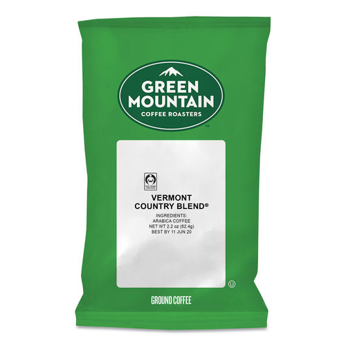 vermont country blend coffee fraction packs by green