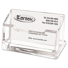 Kantek Clear Acrylic Business Card Holder Thumbnail