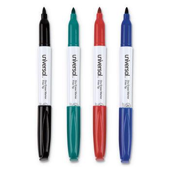 Universal Pen Style Dry Erase Markers Ontimesuppliescom