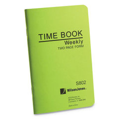 Wilson Jones® Foreman's Time Book Thumbnail