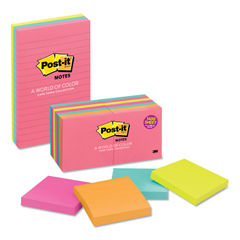 Post-it® Notes Original Pads in Cape Town Colors Thumbnail