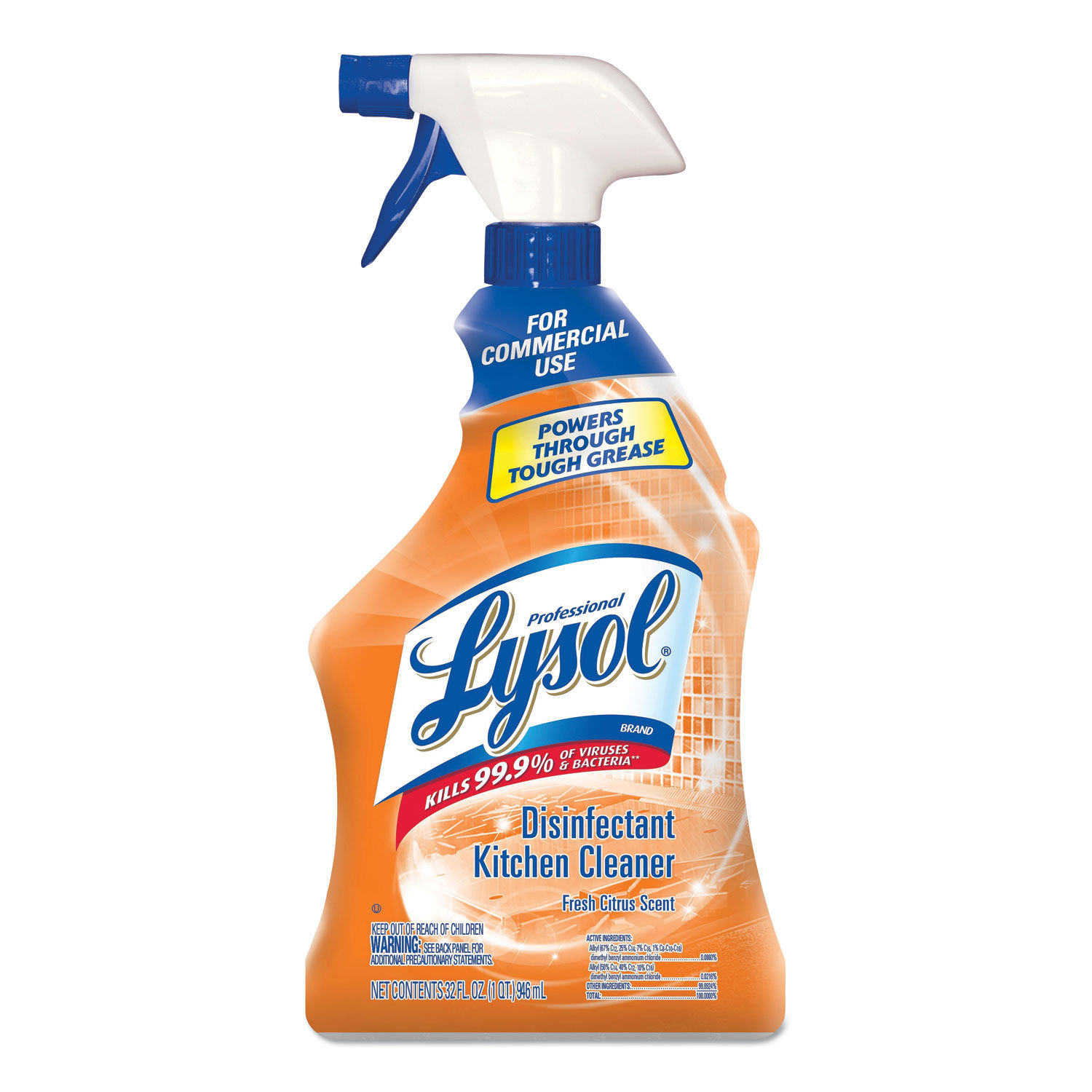Kitchen Cleaner: Disinfectant Kitchen Cleaner By Professional LYSOL® Brand