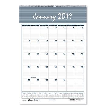 Gsa Calendar 2020 Monthly Wall Calendar by AbilityOne® NSN6007577   OnTimeSupplies.com
