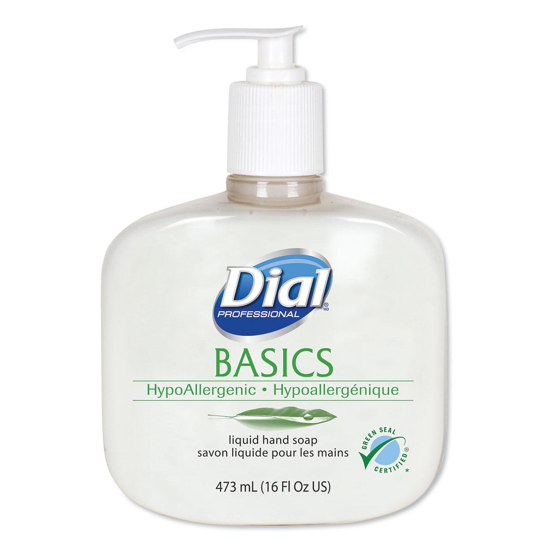 Basics Liquid Hand Soap By Dial Professional Dia06044