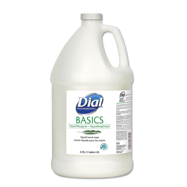 Basics Liquid Soap By Dial Professional Dia06047 Ontimesupplies Com