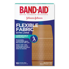 BAND-AID® Flexible Fabric Extra Large Adhesive Bandages Thumbnail
