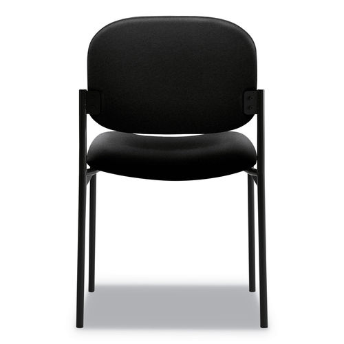 Awe Inspiring Vl606 Stacking Guest Chair Without Arms Black Seat Black Back Black Base Machost Co Dining Chair Design Ideas Machostcouk