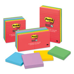 Post-it® Notes Super Sticky Pads in Marrakesh Colors Thumbnail