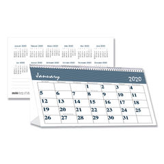 House of Doolittle™ Bar Harbor 100% Recycled Desk Tent Monthly Calendar Thumbnail