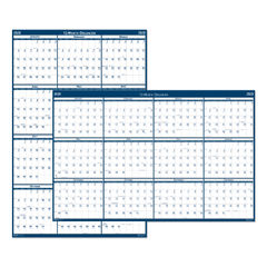 House of Doolittle™ 100% Recycled Poster Style Reversible/Erasable Yearly Wall Calendar Thumbnail