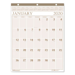 House of Doolittle™ Large Print 100% Recycled Monthly Wall Calendar Thumbnail