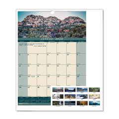 House of Doolittle™ Earthscapes™ 100% Recycled Landscapes™ Monthly Wall Calendar Thumbnail