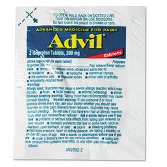 Advil® Ibuprofen Tablets Refill Packs Thumbnail
