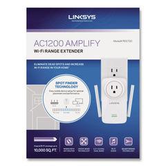 LINKSYS™ AC1200 AMPLIFY Dual-Band WiFi Extender Thumbnail