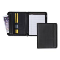 Samsill® Professional Zipper Padfolio with iPad® Pocket Thumbnail