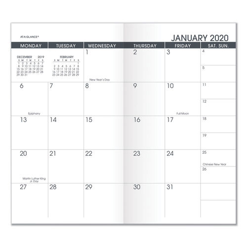 Pocket Size Monthly Planner Refill by AT-A-GLANCE