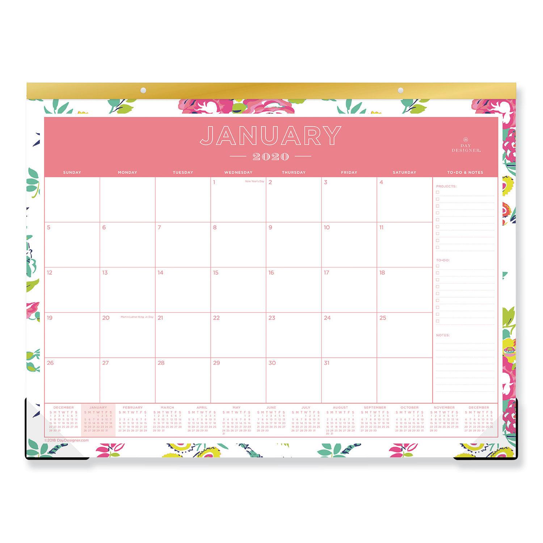 Day Designer Desk Pad Calendar By Blue Sky Bls103631 Ontimesupplies Com