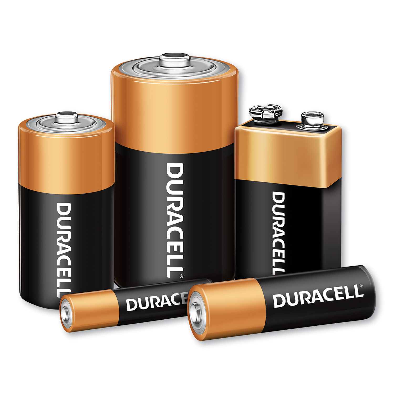  Duracell Coppertop Alkaline Batteries C 4 ea  Pack of 18