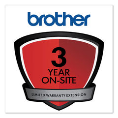 Brother Onsite 3-Year Warranty Extension Thumbnail
