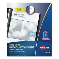 Avery® Heavyweight and Super Heavyweight Easy Load Diamond Clear Sheet Protector Thumbnail