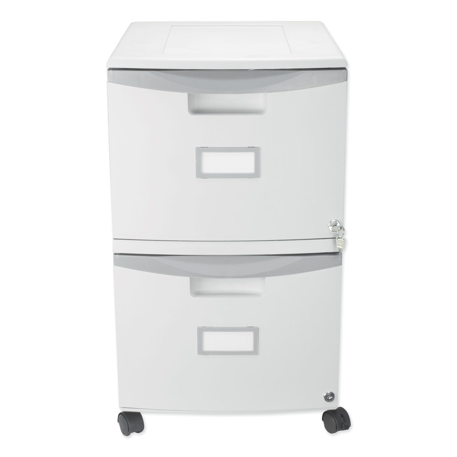 Two-Drawer Mobile Filing Cabinet, 355-35/35w x 35-35/35d x 35h, Gray