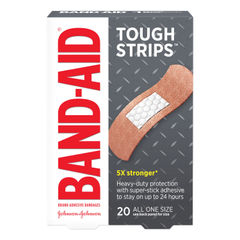 BAND-AID® Flexible Fabric Tough-Strips™ Adhesive Bandages Thumbnail