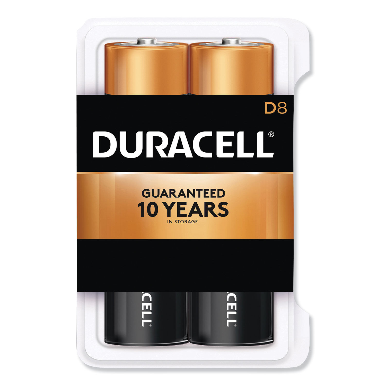1.5V, Duracell Coppertop Alkaline-Manganese Dioxide AA Battery Pack of 48