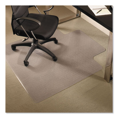 Everlife Chair Mats For Medium Pile Carpet With Lip By Es Robbins Esr122073 Ontimesupplies Com