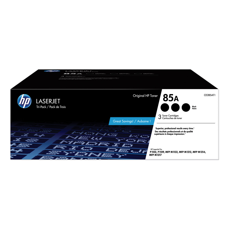 3PK CE285A 85A LaserJet M1212 P1102 Toner Cartridge for HP