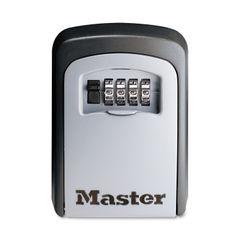 Master Lock® Wall Mounted SafeSpace® Key Storage Lock Box Thumbnail