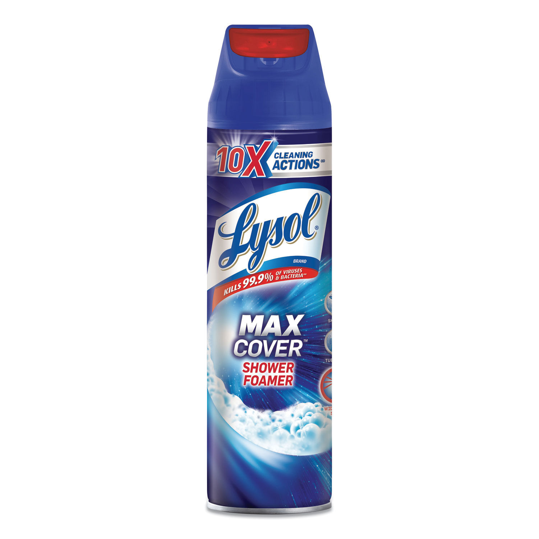 Max Foamer Bathroom Cleaner By Lysol Brand Rac95026ea Ontimesupplies Com